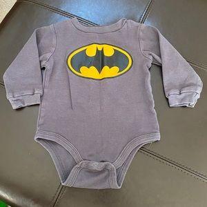 Batman 9 month onesie